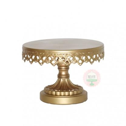 Gold Ornate Cake Pedestal Stand