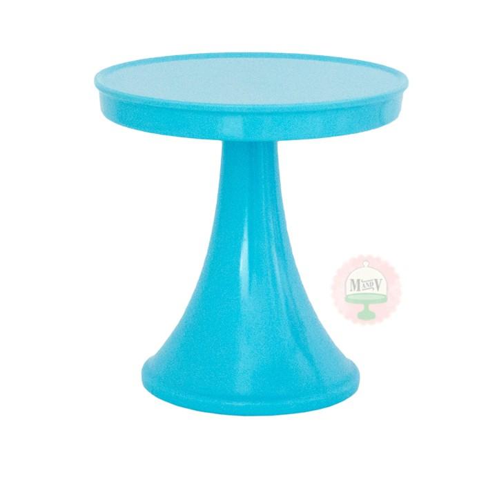 Aqua Ceramic Cake Stand