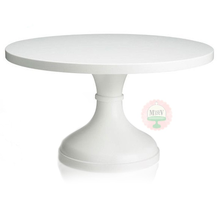 More Views 16 White Wedding Cake Stand