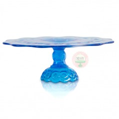 Blue Moon & Stars Cake Stand