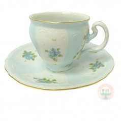 Gumdrop Children's Teacup & Saucer-Blue