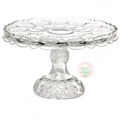 Crystal Moon and Stars Cake Stand