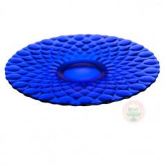 Elizabeth Cake Plate-Cobalt Blue
