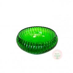 Emerald Swirl Bowl