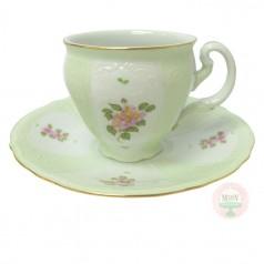 Gumdrop Children's Teacup & Saucer-Green