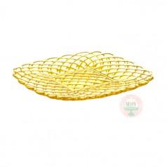 "8"" Lemon Trellis Cake Plate"