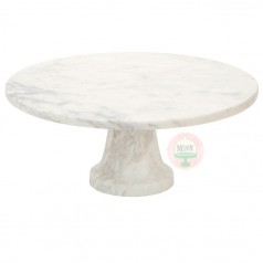 "11"" Marble Cake Stand"