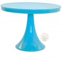 Melamine Cake Stand-Bright Blue