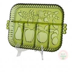 Relish Tray-Avocado Green