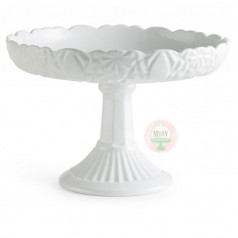 Antique Inspired Rimmed Cake Stand