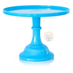 "9"" Blueberry Milk Classic Cake Stand"