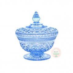 Vintage Blueberry Bowl with Lid