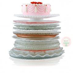 Cake Plates Assorted