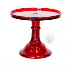 """6"""" Candy Apple Red Classic Cake Stand"""