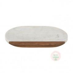 Marble & Wood Serving Board