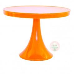Orange cake stand
