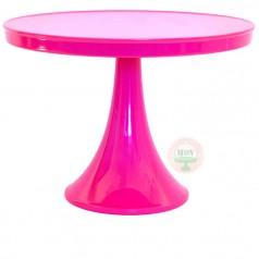 bright pink cake stand