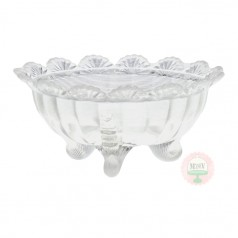 Clear Opal Bowl