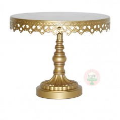 Opulent Treasures Gold Cake Stand