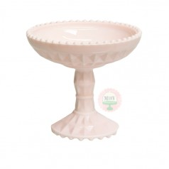 Vintage Pink Compote