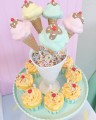 Vintage Ice Cream Dessert Table by Minted and Vintage