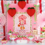 Vintage Strawberry Shortcake 1st Birthday Party