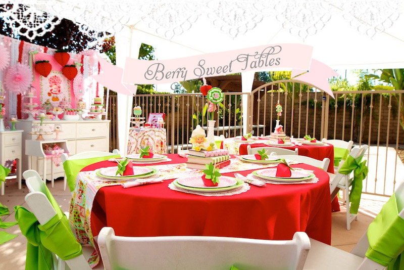 Vintage Strawberry Shortcake 1st Birthday Party Minted