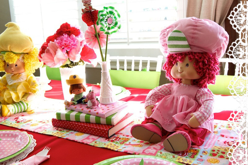 Vintage Strawberry Shortcake Centerpieces Minted And