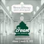 Minted and Vintage at The Cream Event!