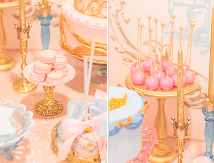 Pt 2 Vintage Sleeping Beauty Dessert Table Dessert