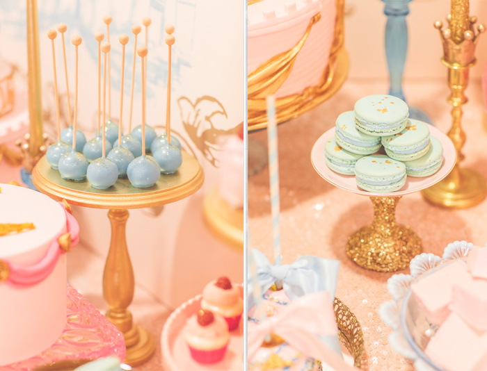 Pt 2 Vintage Sleeping Beauty Dessert Table Dessert