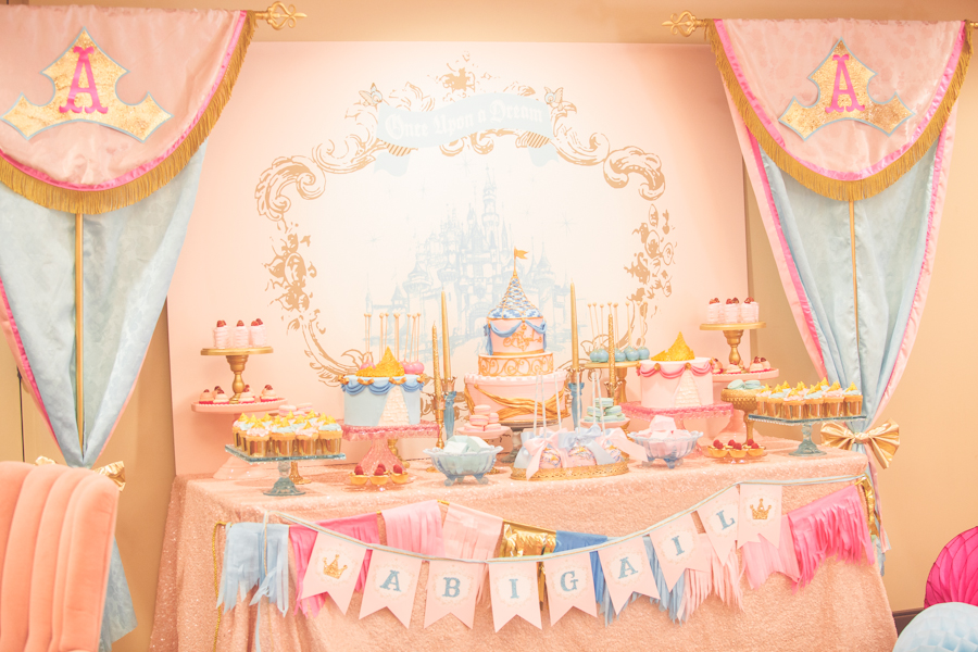 Pt 1 vintage sleeping beauty inspired birthday party by for Beauty on table