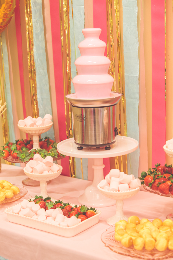 Pt.5 Chocolate Fountain Table | Dessert Stand Rentals ...
