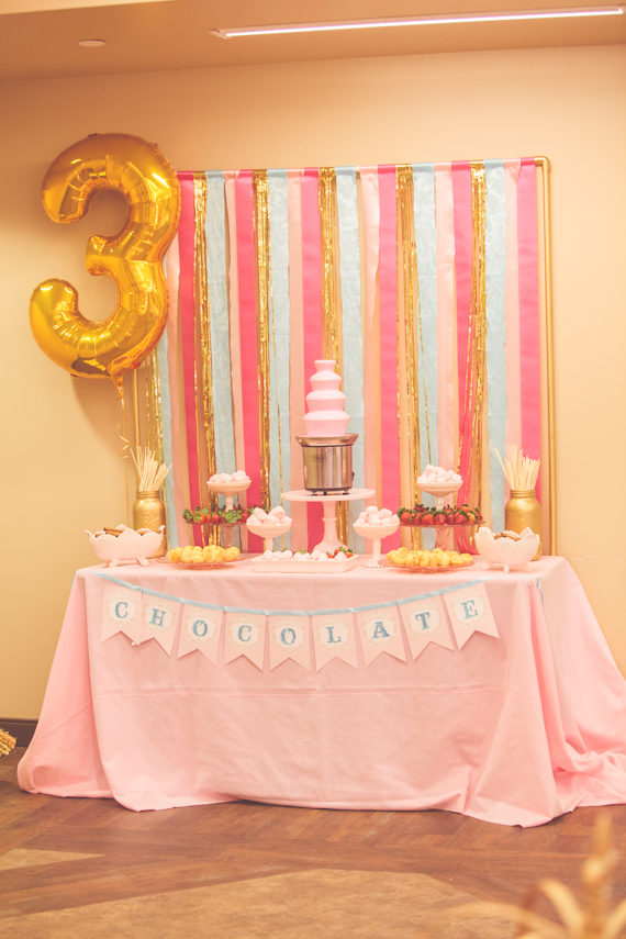 Pt 5 Chocolate Fountain Table Dessert Stand Rentals Los Angeles