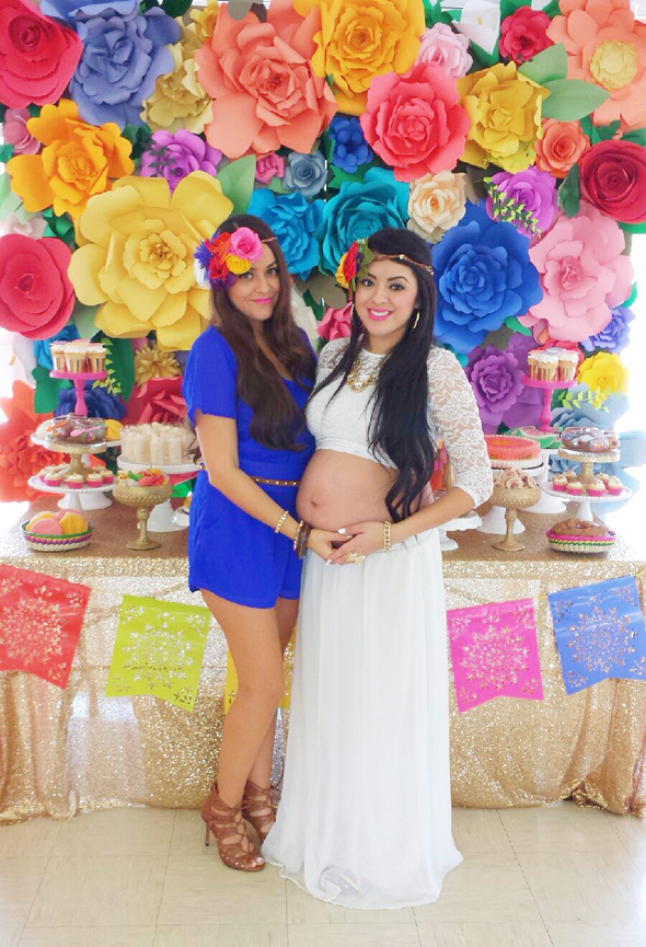My Sisters Colorful Mexican Inspired Baby Shower