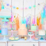 Minted and Vintage's 2nd Anniversary Dessert Table!