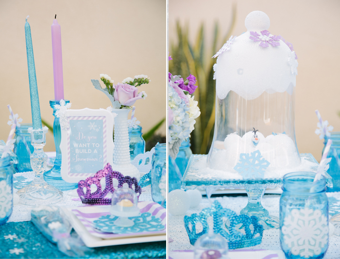 Frozen Birthday Party By Minted And Vintage