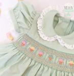 Vintage Ice Cream Smocked Dress
