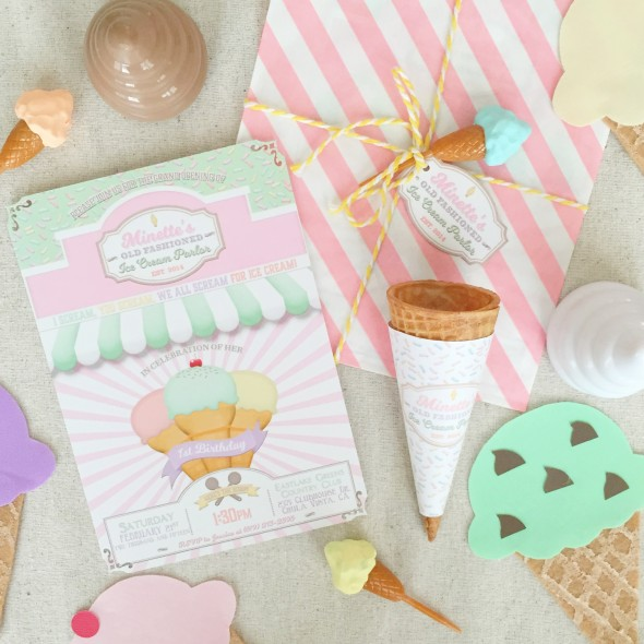 Vintage Ice Cream Parlor Party