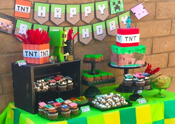 Minecraft Dessert Table_6