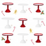 Christmas Cake Stands for your Holiday Tables!