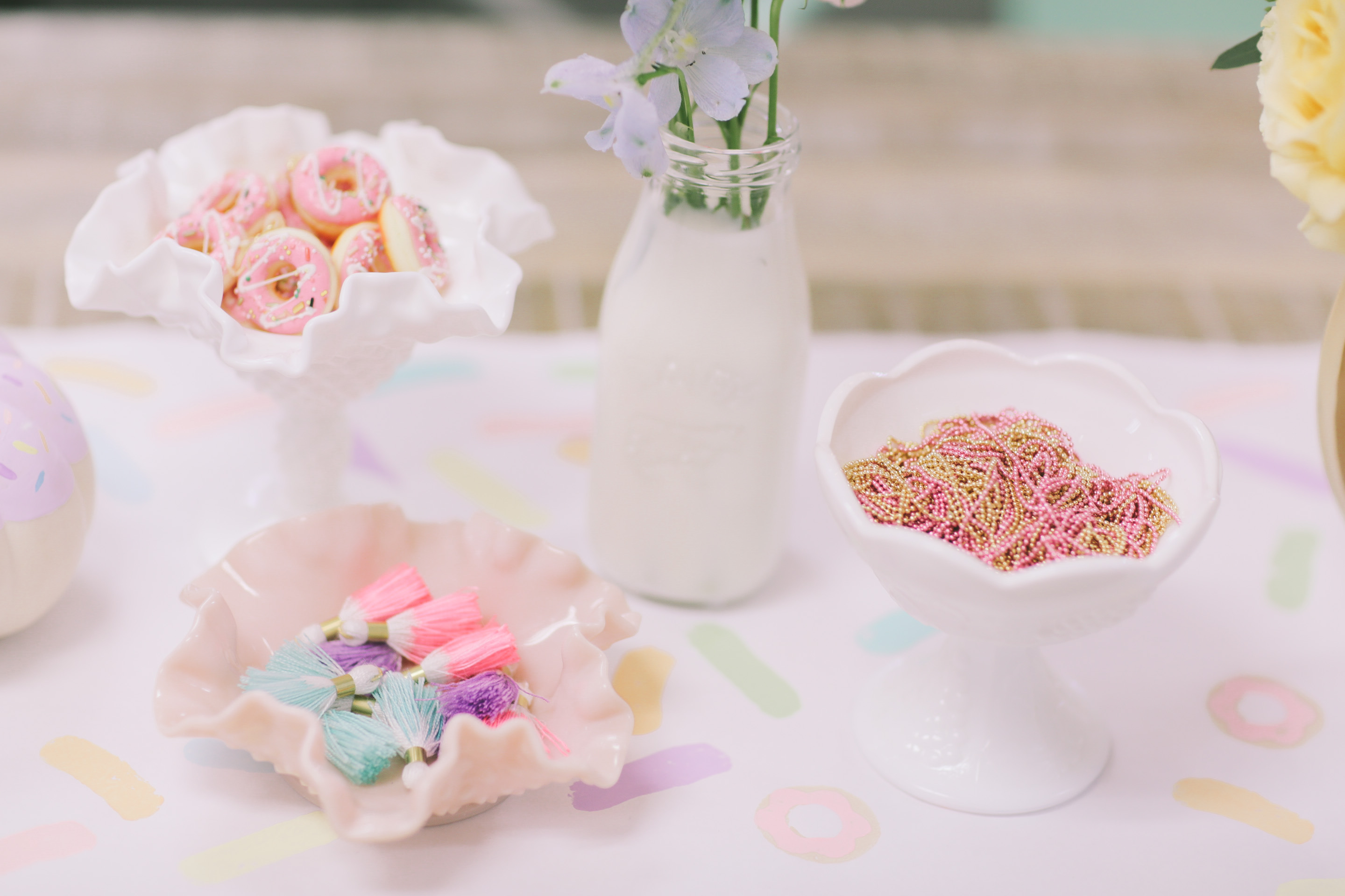 Donuts with Abby!   Dessert Stand Rentals ~ Los Angeles, California