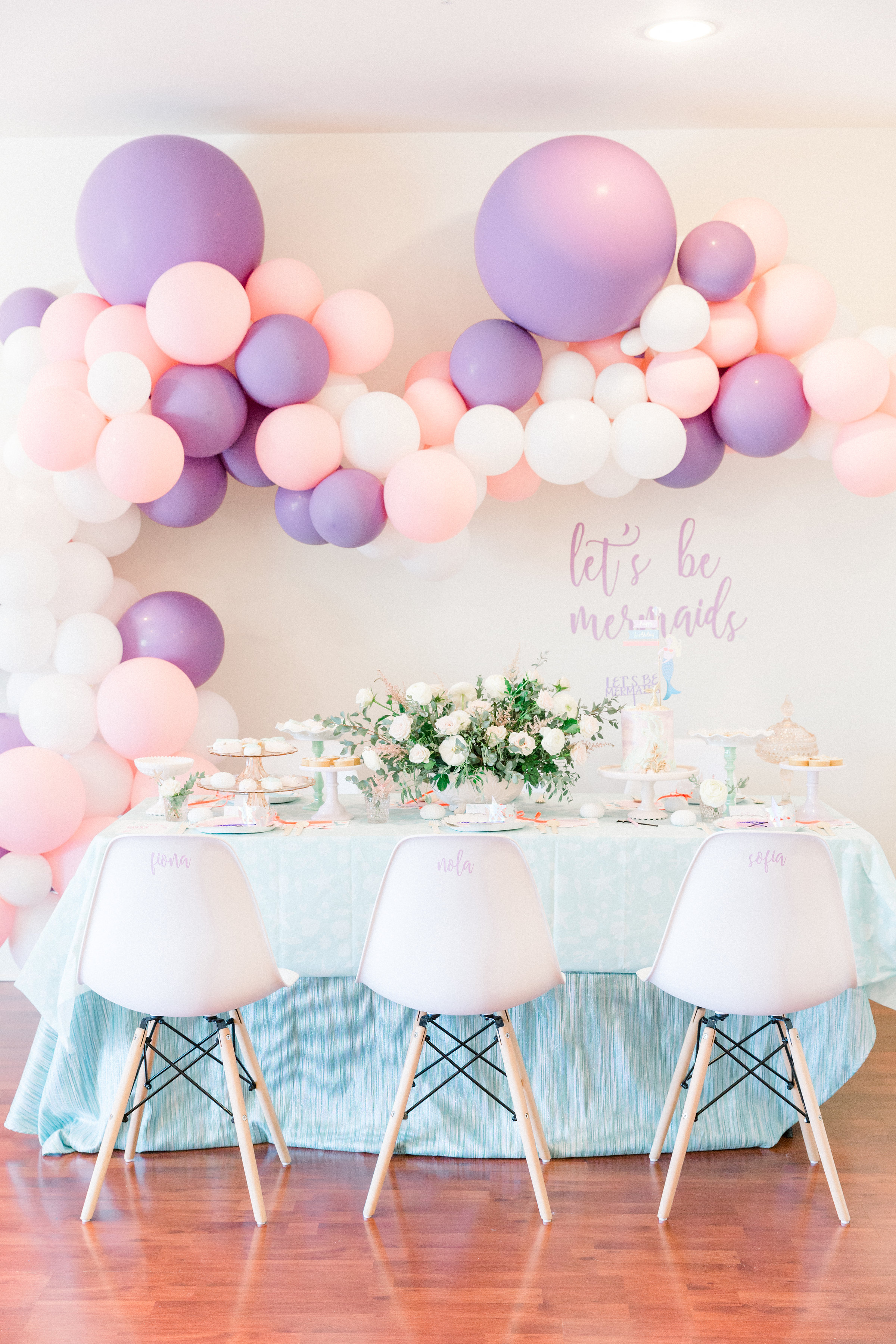 Pastel Mermaid Party From Pretty Little Events Dessert