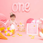 Museum of Ice Cream Themed 1st Birthday Photoshoot
